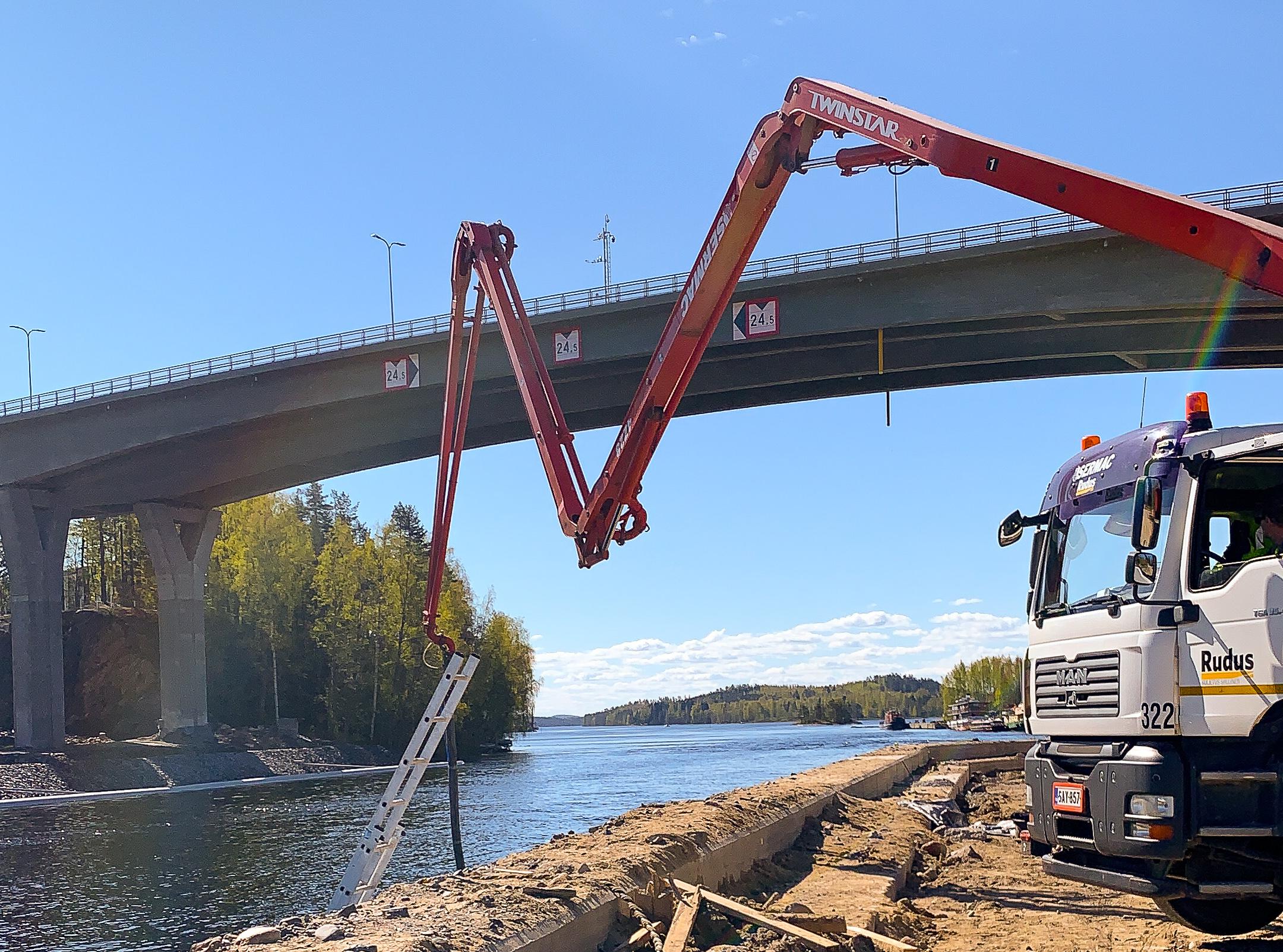 vedenalainen betonointi on vesirakennustyötä